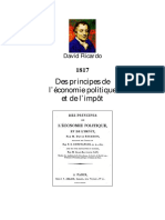 Principes de economie politique et les impots