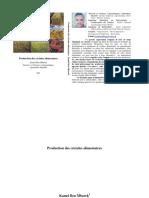 Production des céréales alimentaires