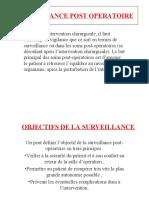SURVEILLANCE-POST-OPERATOIRE