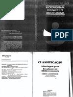 Classificaçãoː Abordagem Para Estudantes de Biblioteconomia - Longridge