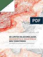 os limites da acumulação _ movimentos e resistencias nos territórios - Joana BARROS, André DAL'BÓ DA COSTA e Cibele RIZEK (orgs.)