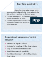 2 central tendency