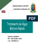 03.1 - Tratamento de Água - Mistura Rápida