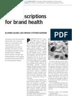 9 prescriptions for br health