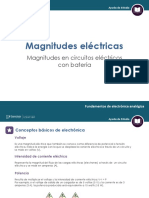 magnitudes electricas (fundamento electronica analogica)