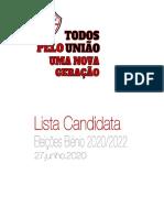 Lista Candidata