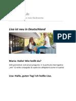 Todoaleman.de Buch A1.1 Lisa Ist Neu in Deutschland