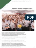 26-06-2019 Entrega Héctor Astudillo equipamiento a escuelas y Facultades de la UAGro
