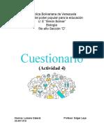 Cuestionario(Bio 4)