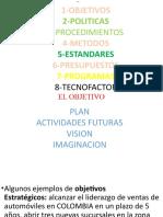 CLASIFICACION DE PLANEACION