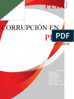 CORRUPCIÓN EN PERÚ ( FINALIZADO)