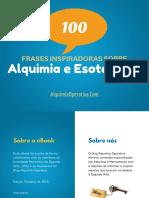 [Alquimia Operativa]eBook 100 Frases Inspiradoras de Alquimia e Esoterismo