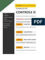 Planilha de Controle de Cheques 3.0 - DEMO