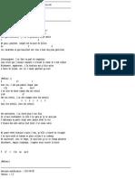 La Boîte à chansons - David Jalbert - Des crampes dans les orteils