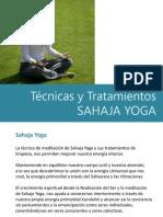 1 PARTE - Técnicas y Tratamientos SAHAJA YOGA
