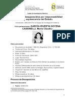 GARCIA IRURETA GOYENA CASSINELLI, María Claudia Ficha accesible