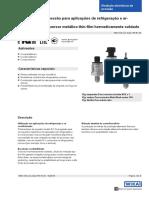 Transmissor de pressão R1 DS_PE8145_pt_br_69555