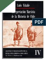 Luis Vitale - Interpretación Marxista de la Historia de Chile