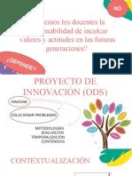 Presentación Proyecto Innovación