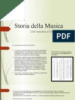 2. Storia Della Musica - La Notazione