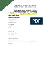 5.7 TALLER TEOREMA FUNDAMENTA MATEMATICA FINANCIERA