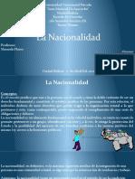 Presentaciones De La Nacionalidad