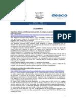 Noticias 9 de marzo RWI - DESCO