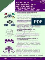 Infográfico Ética e Cidadania Na Sociedade Tecnológica