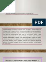 APARTADO CLASES REMOTAS 2021