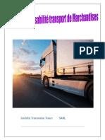 etude faisabilité transport personnel