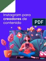 Instagram Para Creadores de Contenido VF