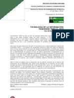 Tecnología de la Inf Panorama....