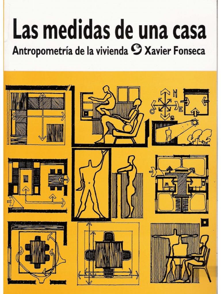 Diseno De Baños Neufert:Las Medidas de una casa – Xavier Fonseca