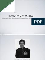 Shigeo Fukuda Presentation