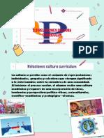 cultura curriculum