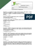 BRUNA MIKAELLA RIBEIRO CARDOSO - [Template] Atividade Estequiometria