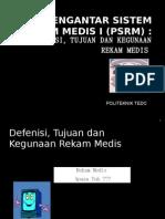 PERTEMUAN 1-Defenisi dan Kegunaan RM