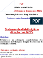 Act. 22 . Sistemas de Distribuicao e Direcao Nos MCI. EST (1)