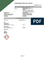 MSDS CA 15000MT (SDS EN  20160322)  English