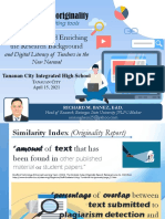 Enhancing Research Paper Originality