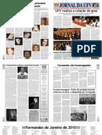 Jornal da UFV  - Especial Formatura CCE e CCA