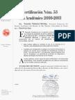 Certificaciones Núms. 53, Año 2010-2011, del Senado Académico del Recinto de Río Piedras sobre los incidentes violentos ocurridos el lunes, 7 de marzo de 2011 en la Escuela de Arquitectura.