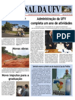 Jornal da UFV - Especial 1 ano de Reitoria