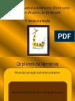 estrutura narrativa Gato Andorinha PPT