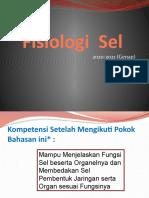 Sel Fisiologi 2021