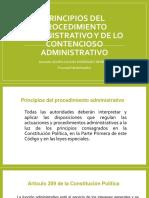 Diapositivas Principios Del Procedimiento Administrativo y de Lo Contencioso Adm.