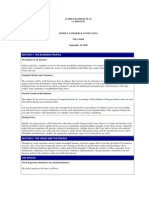 SAMPLE BUSINESS PLAN - (A Service) - Smith E-Commerce Consulting