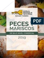 Peces  y Mariscos DE BAJO NIVEL COMERCIAL