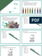 Desafíos matematicos-Multiplicacion y division