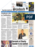 The Chelsea Standard Front Page